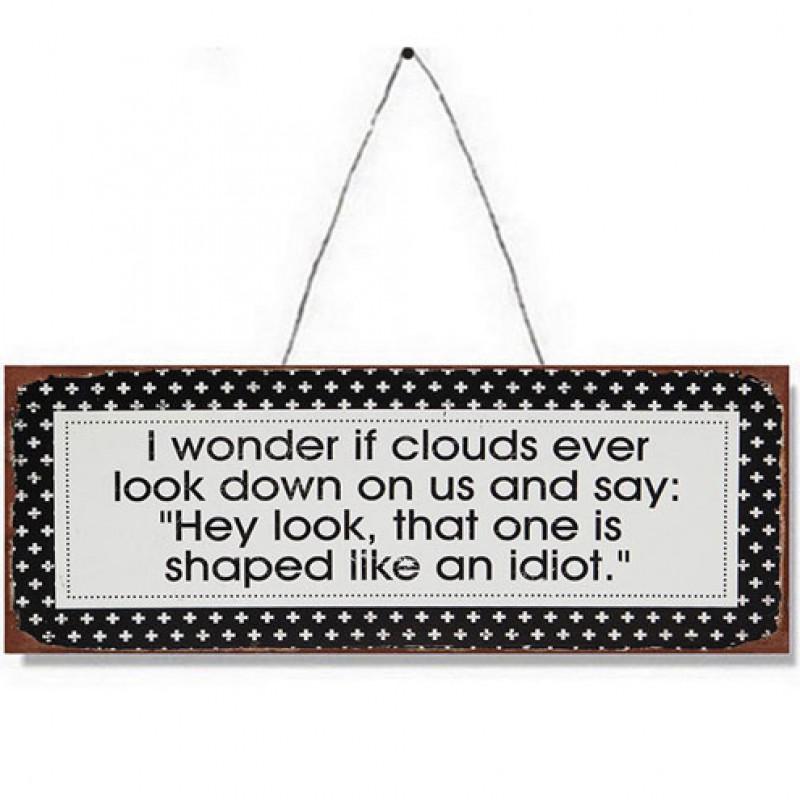 Cloud Joke Metal Plaque Primus