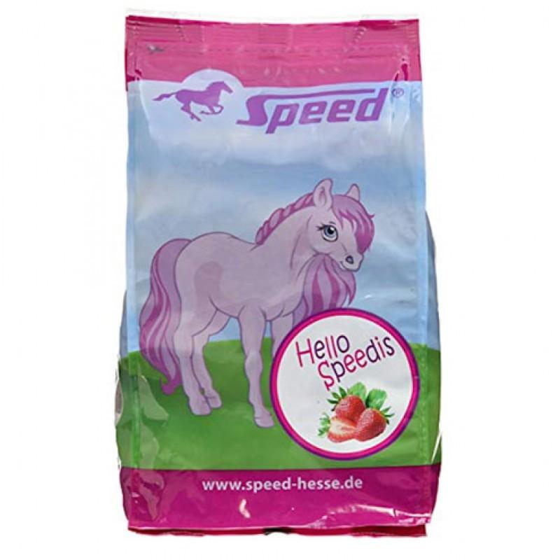 Paardensnoep Aardbei 'Hello Speedis' 1kg