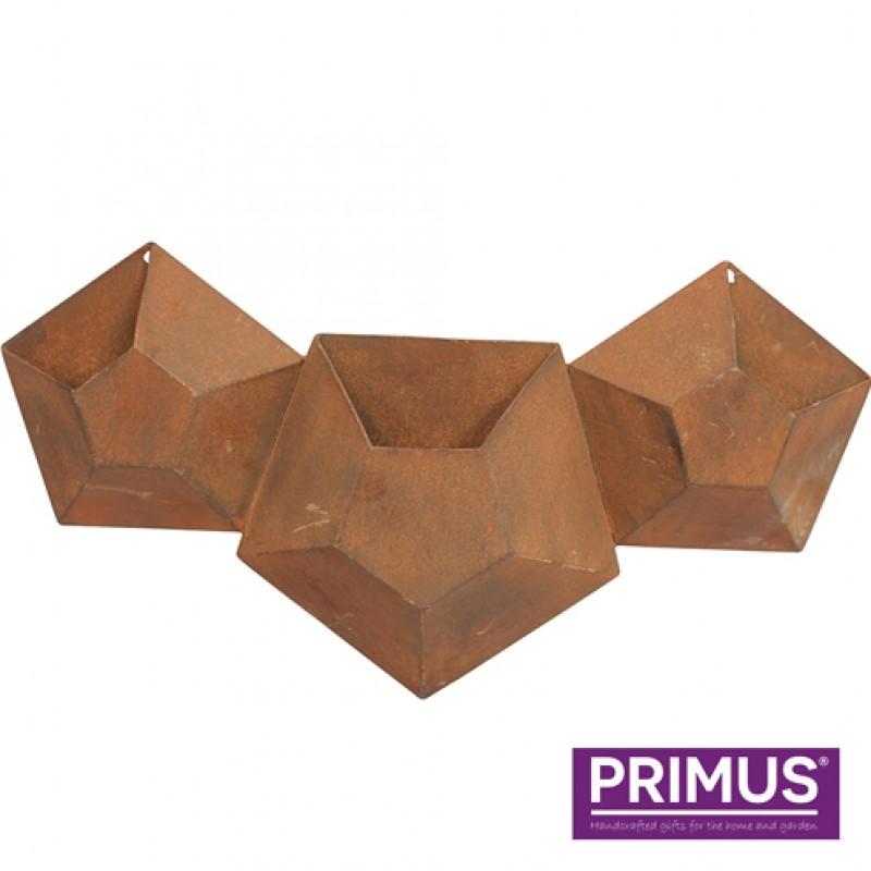 3 Pot Hexagonal Planter Primus