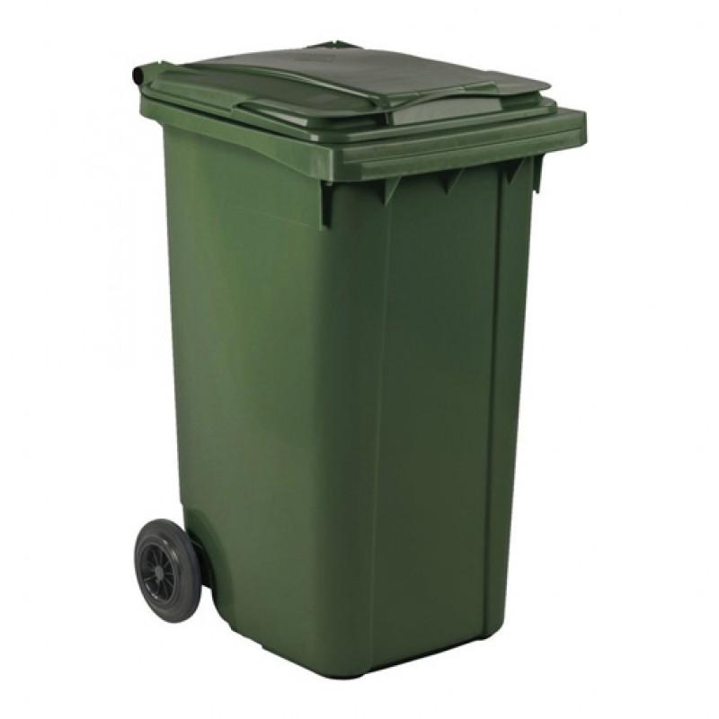 Afvalcontainer verrijdbaar 240 liter