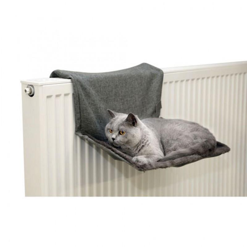 Kattenhangmat 'Paradijs' 45x30cm grijs