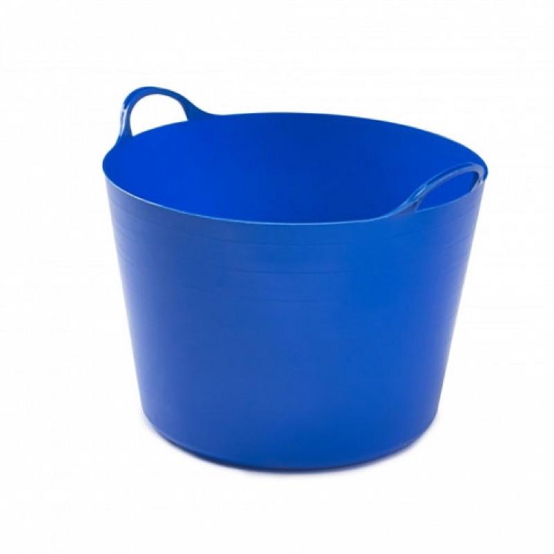 Baquet flexible 'Fynalite' 39 L bleu
