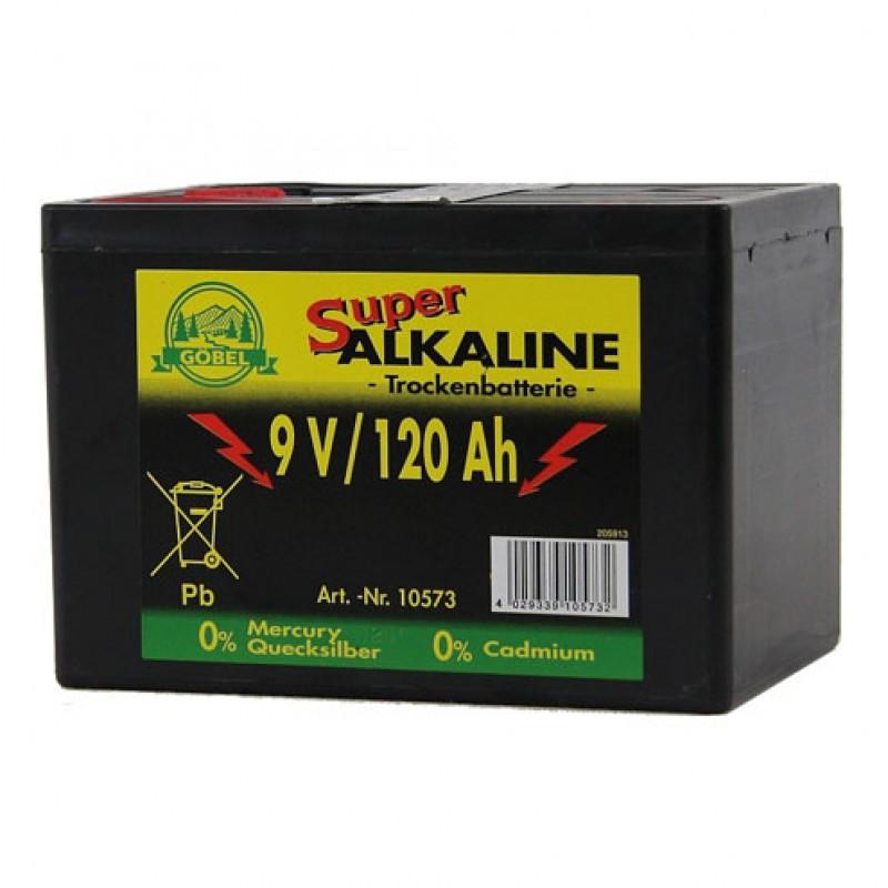 Pile alcaline 9V/120Ah Göbel