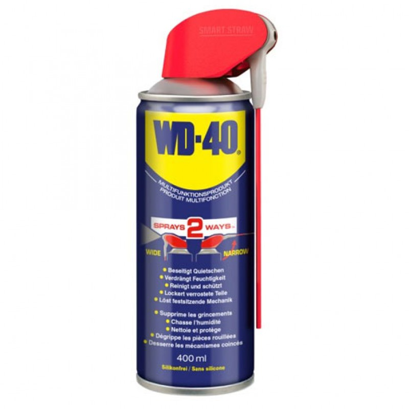 Multifunctionele spray Smart Straw WD-40 400ml
