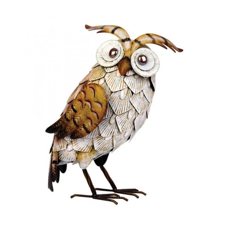 White metal Owl Primus