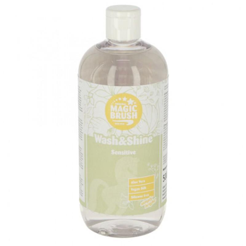 Wash & Shine shampoo 'Sensitive' 500ml MagicBrush
