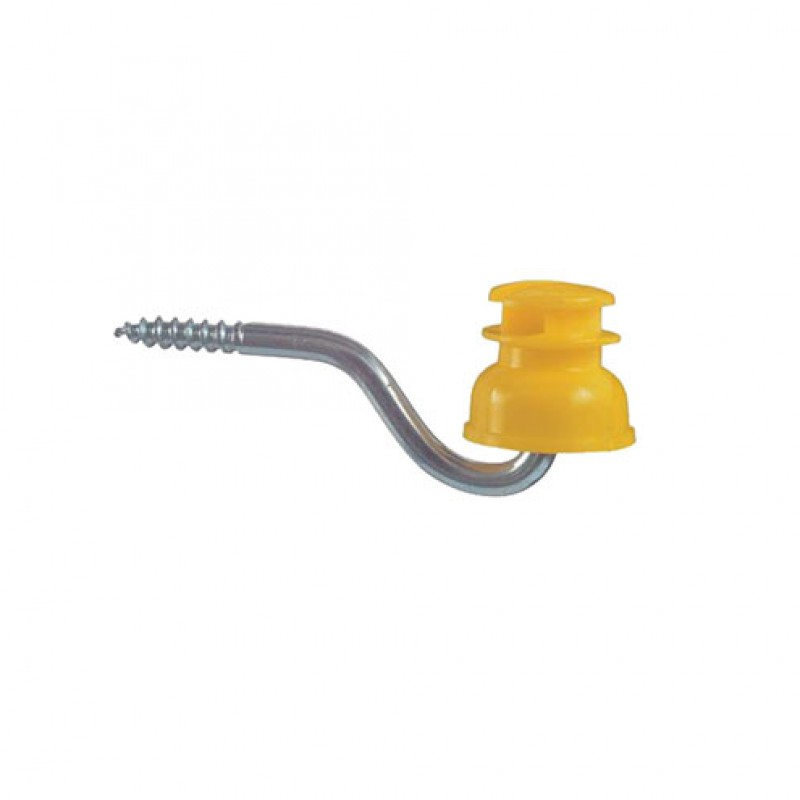 Sleufisolator geel 'S151', 50 stuks Göbel