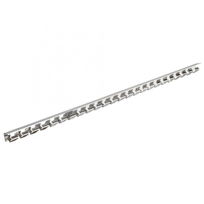 Rail 125cm voor gordijnstrips