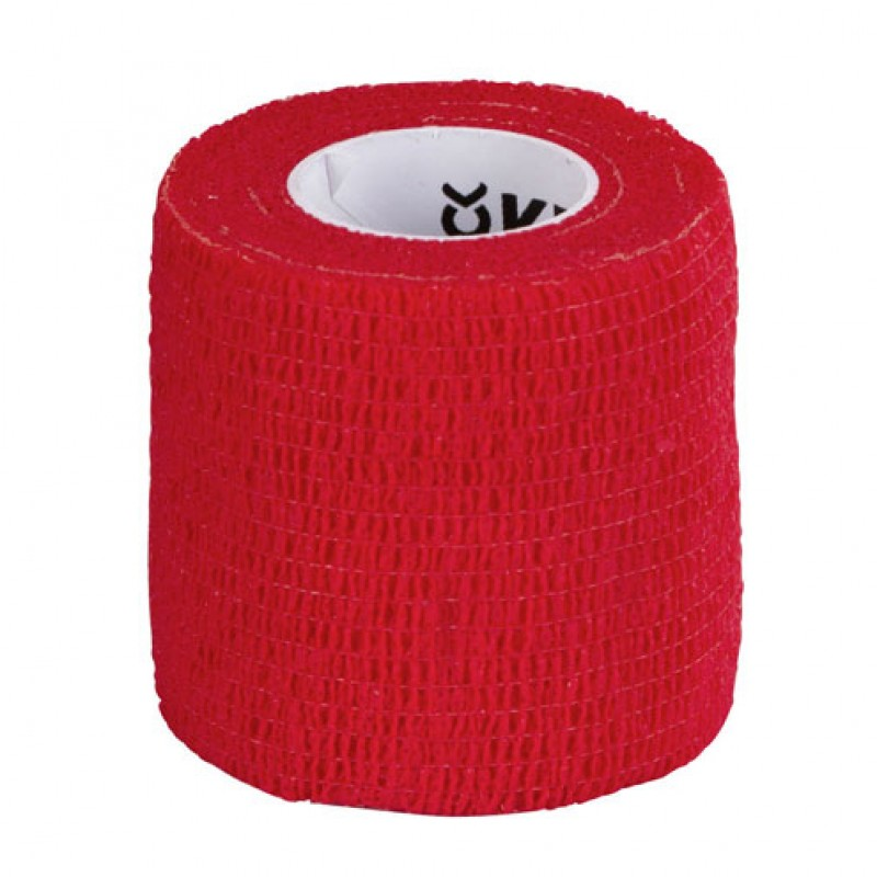 EquiLastic Zelfhechtende bandage rood, 450x5cm