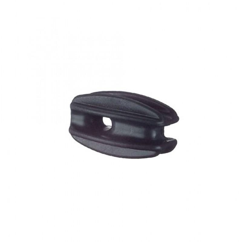 Ei-isolator zwart, blister 4 stuks