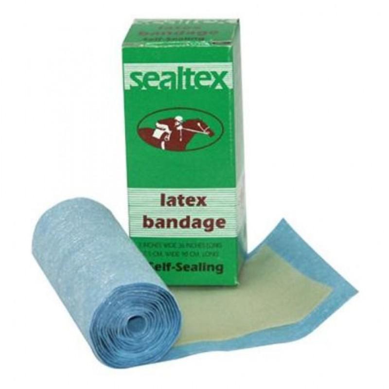 Zelfklevende latex bandage voor bitten 'Sealtex' 7,5x90cm