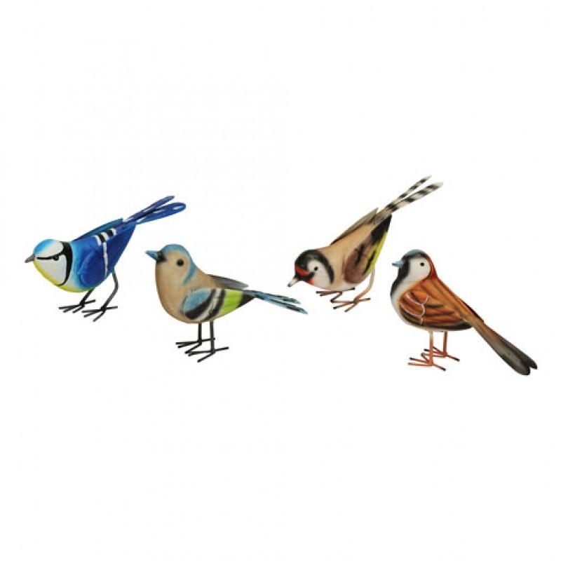 Set of 4 British Birds Primus