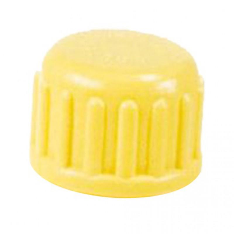 Losse dop voor dumpisolator geel