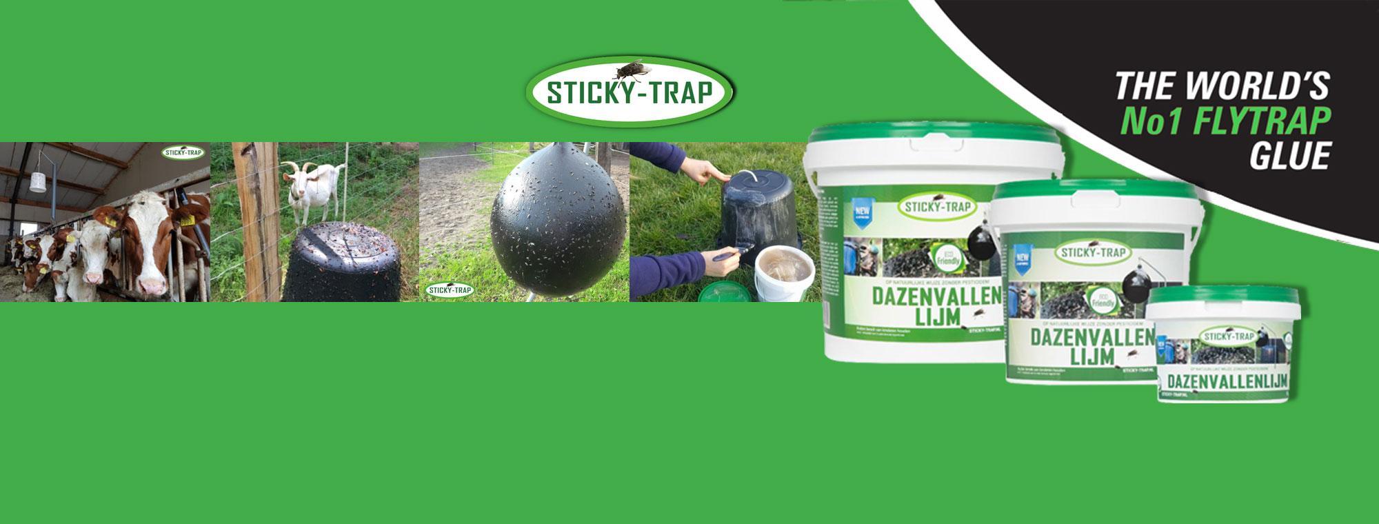 Sticky Trap dazenvallen lijm, verantwoord, betaalbaar en effectief bij bijtende insecten!